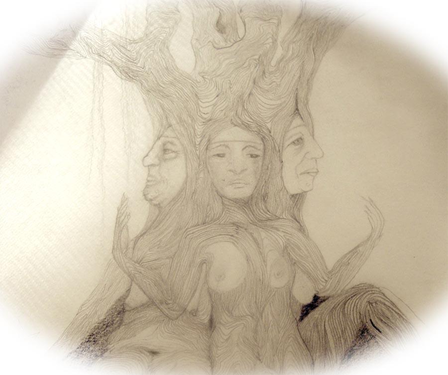 Folk Tale Norn's One storytelling Iris Curteis